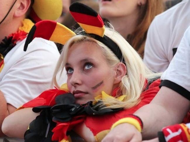 Немецкие фанатки ЕВРО-2012 (53 фото)