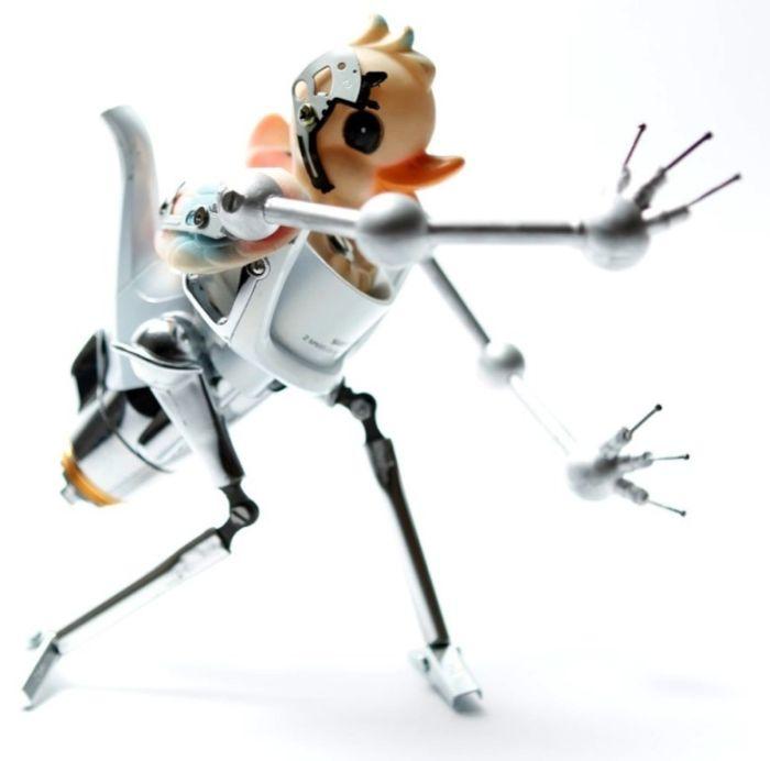 Креативные роботы из подручных средств (25 фото)