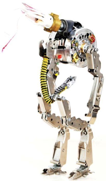 Как сделать из робота подручных средств в 579