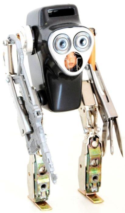 Своими руками из подручных средств робот
