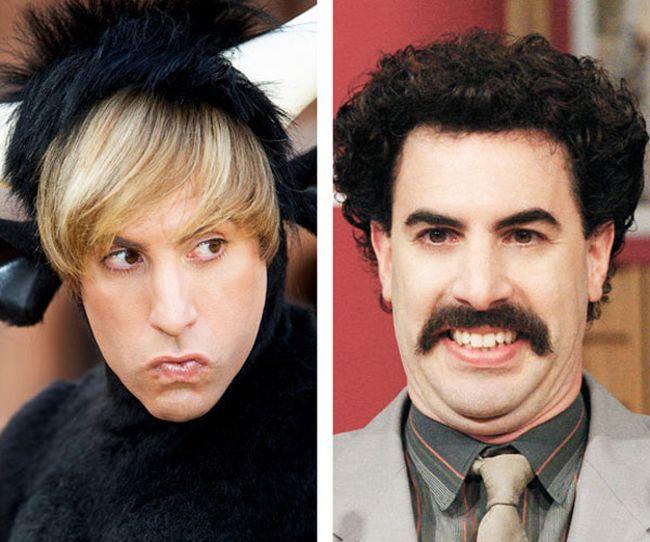 Когда знаменитостям лень бриться (27 фото)