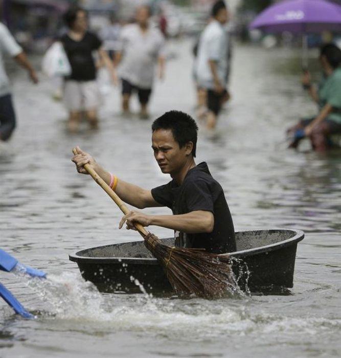 Наводнение - не повод для расстройства (67 фото)