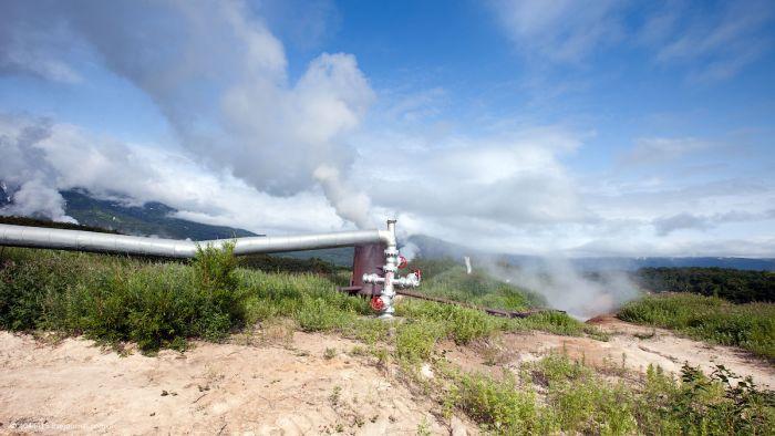 Первая геотермальная электростанция времен СССР (33 фото)