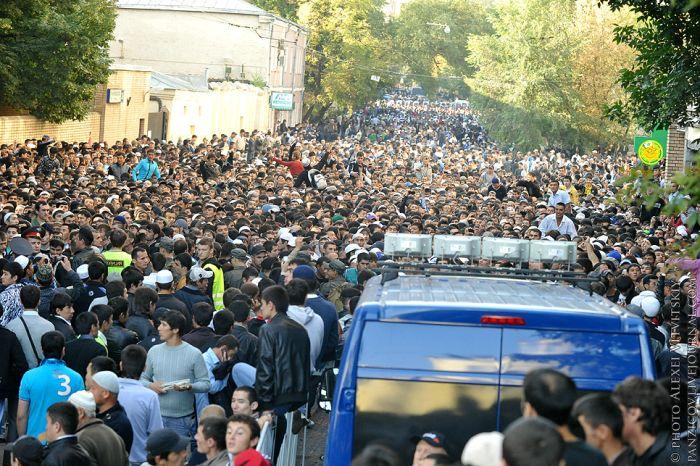 Как прошло празднование Ураза-Байрам в Москве (15 фото)