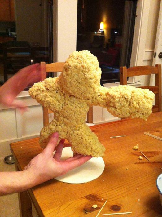 Креативный способ сделать рисовый торт (41 фото)