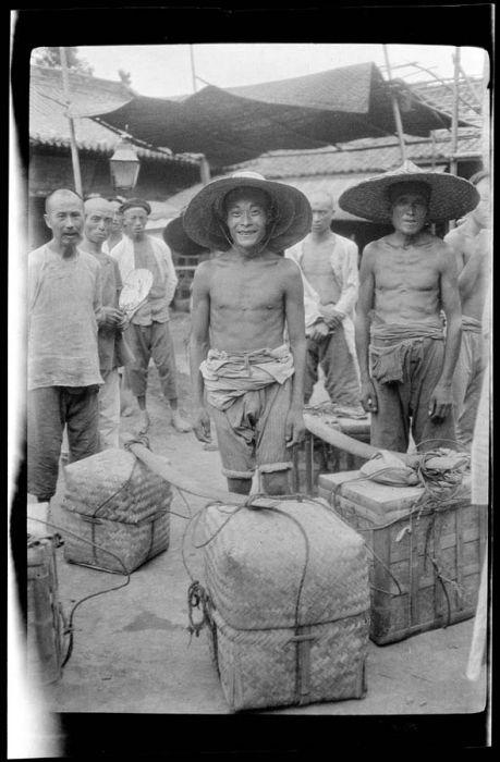 Архивные снимки Китая начала прошлого века (78 фото)