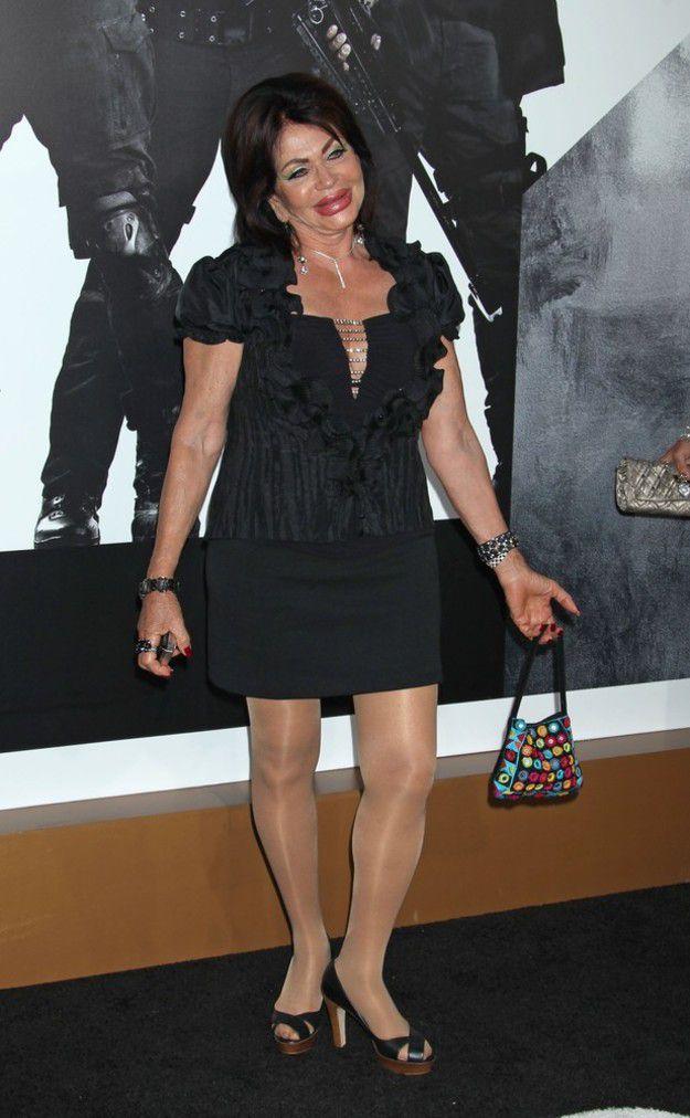 Как изменилась мама Сильвестра Сталлоне (7 фото)