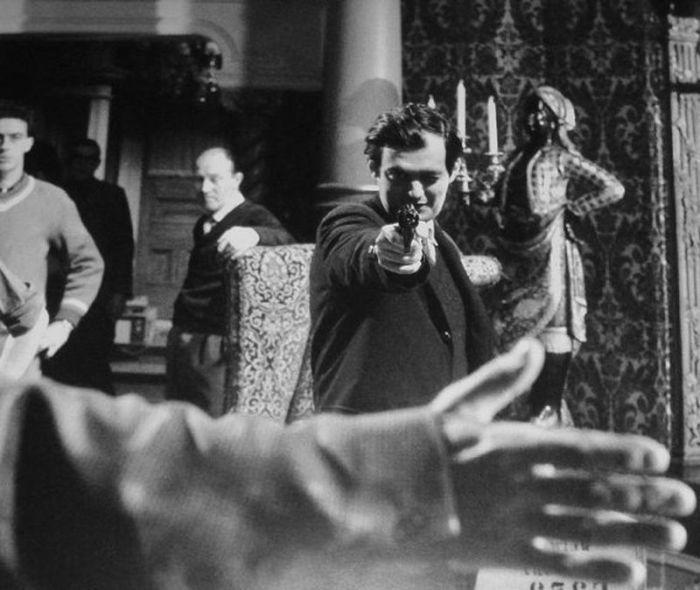 Кинорежиссер Стэнли Кубрик за работой (49 фото)