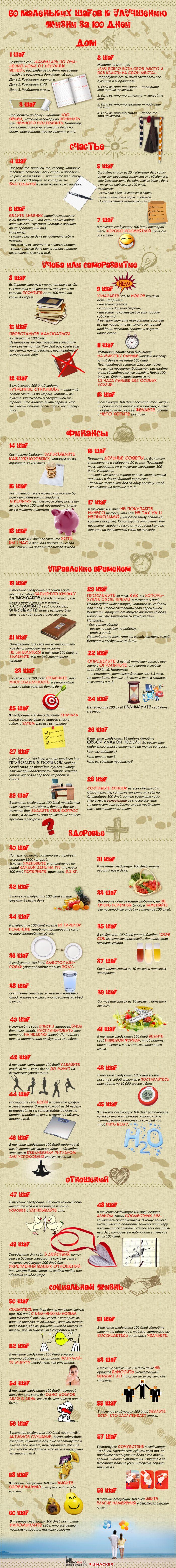 Как  улучшить  свою  жизнь  за  60  дней  (1  картинка)