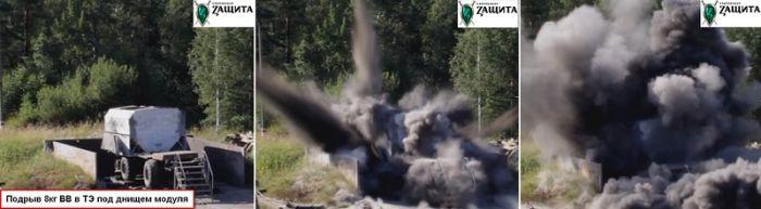 Боевые испытания бронемодуля (7 фото)