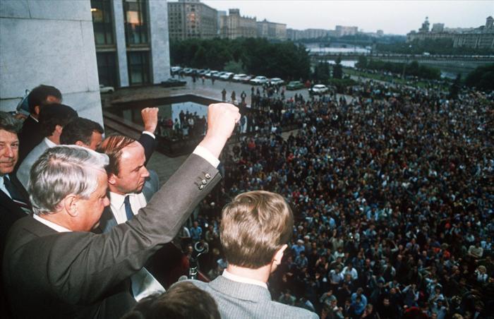 Август 1991 года (42 фото)
