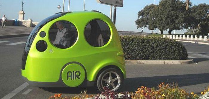 AirPod - индийский автомобиль, который ездит на воздухе (10 фото)