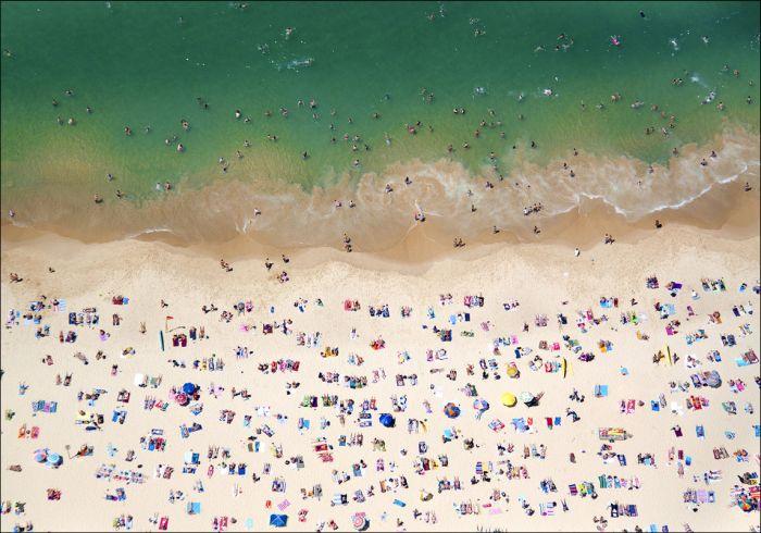 Лучшие пляжи всего мира с высоты птичьего полета (39 фото)