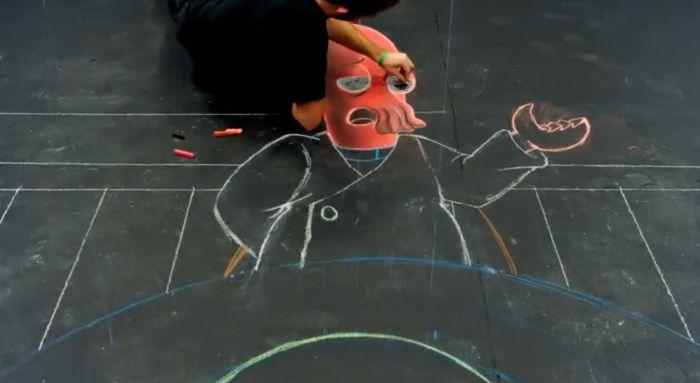 Делаем 3D-рисунок своими руками (57 фото)