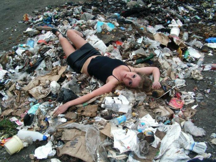 выкинь мусор фото