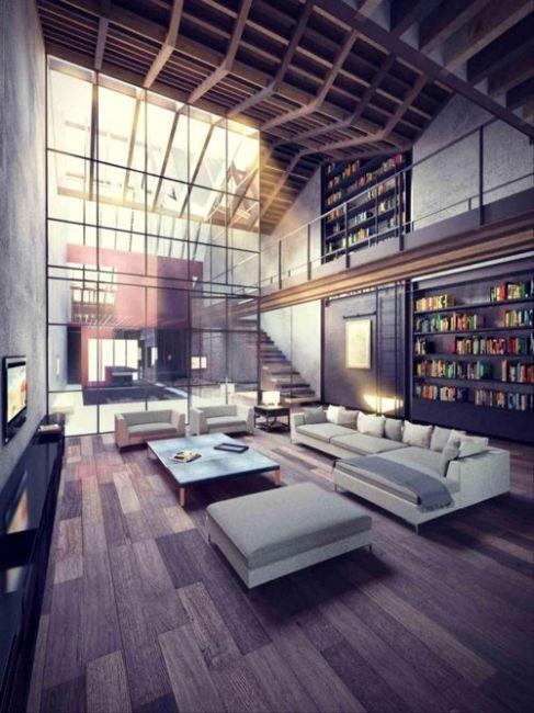 Креативные дизайны интерьера (56 фото)