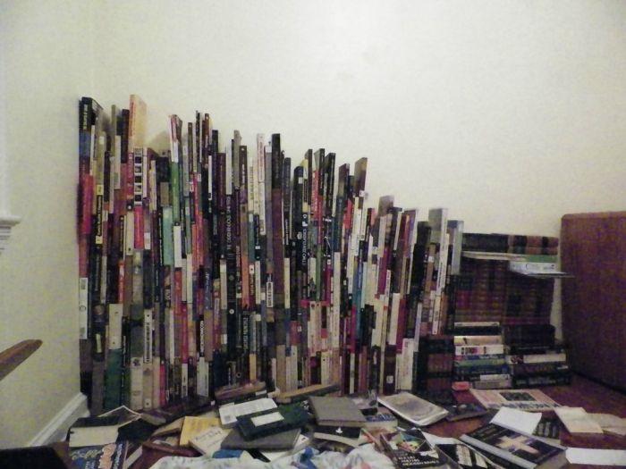 Если у вас нет книжного шкафа (10 фото)