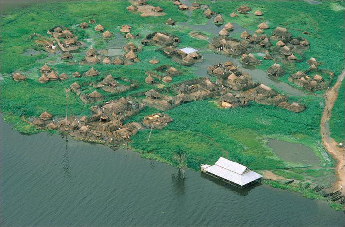Самое большое болото в мире (9 фото)