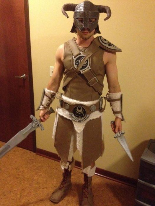 Косплей костюм в стиле Skyrim своими руками (10 фото)