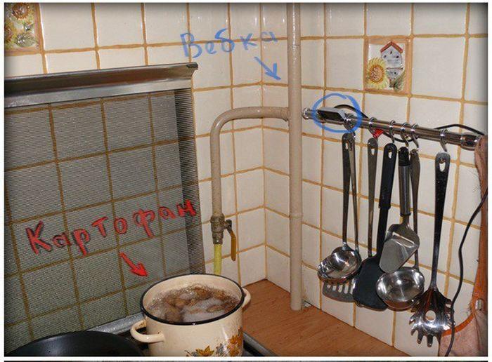 Классный совет для тех, кому надоело стоять у кухонной плиты (3 фото)