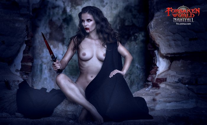 Откровенные фото с вампиршами (осторожно, НЮ)