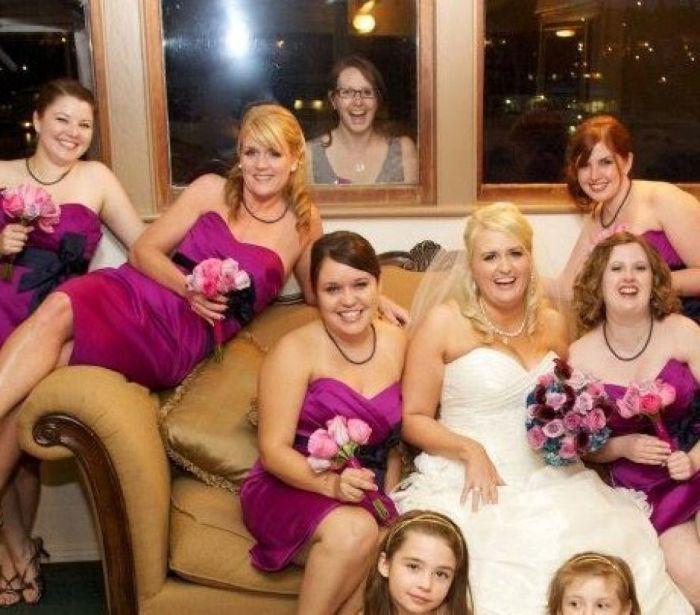 Свадебные фотобомбы (23 фото)
