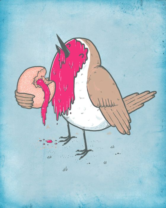 Забавные рисунки Randyotter (47 картинок)