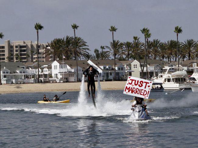 Креативная свадьба в Калифорнии (12 фото)