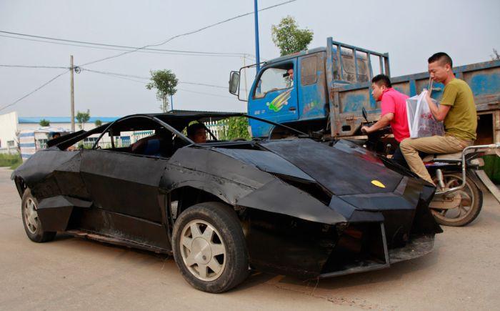 Lamborghini Reventon своими руками (7 фото)