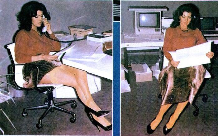 Какими были секретарши в прошлом (35 фото)