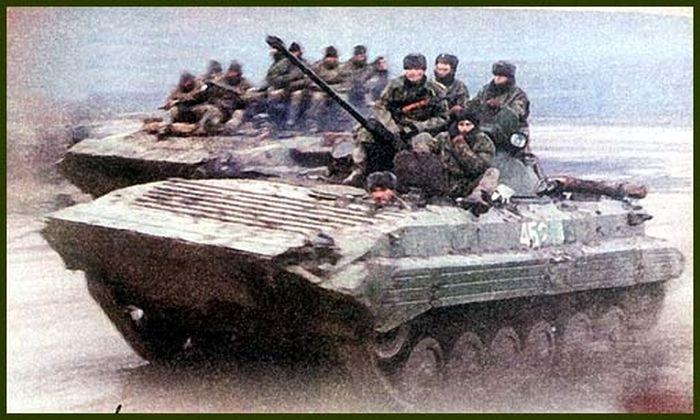 Архивные снимки чеченской войны 1994-1995 (69 фото)
