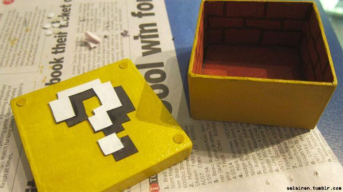"""Креативное предложение руки и сердца в стиле """"Супер Марио"""" (4 фото)"""