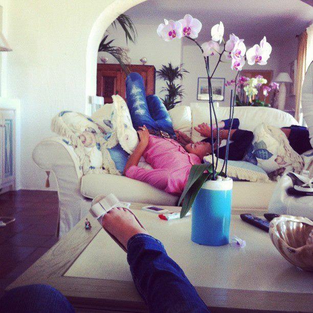 Российские гимнастки отдыхают на Сардинии (39 фото)