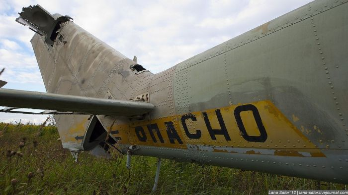 Свалка заброшенных самолетов (53 фото)