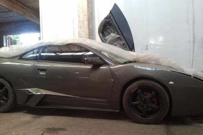 Крутая копия Lamborghini от украинского мастера (67 фото)