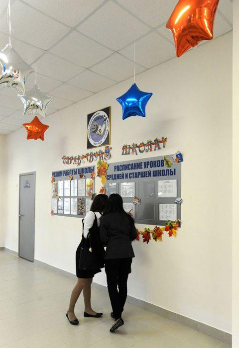 Современная школа в Подмосковье (39 фото)