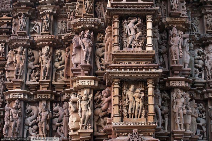 Камасутра в камне эротические храмы Кхаджурахо в Индии