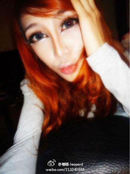 Тина Леопард - блоггерша, прославившаяся из-за необычной формы лица (18 фото)