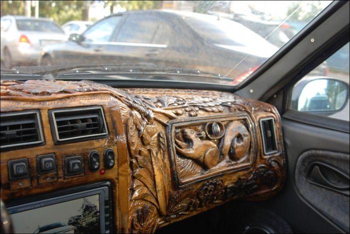 Интерьер авто своими руками фото 762