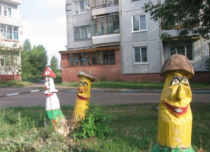 Шедевры дворового искусства (72 фото)
