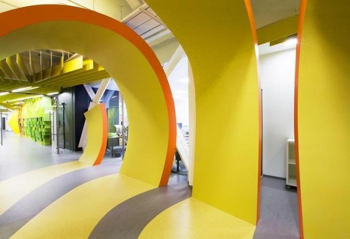 Новый офис «Яндекса» в Санкт-Петербурге (29 фото)