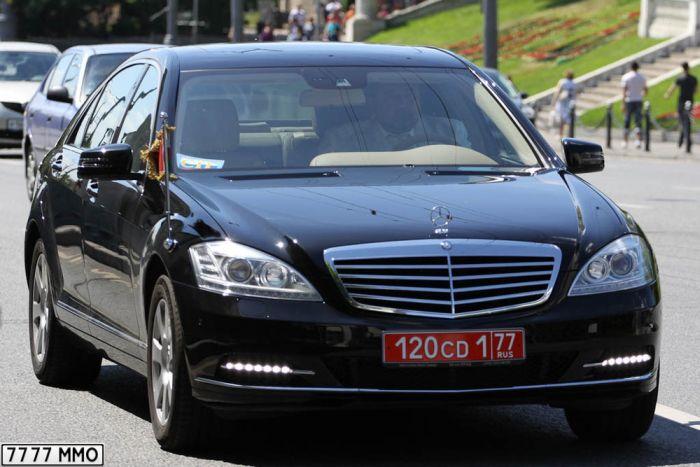 Автомобили послов зарубежных стран в Москве (168 фото)