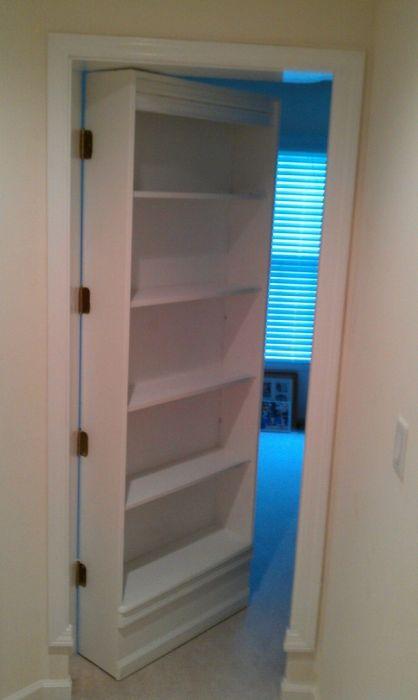 Как сделать дверь в тайную комнату (17 фото)