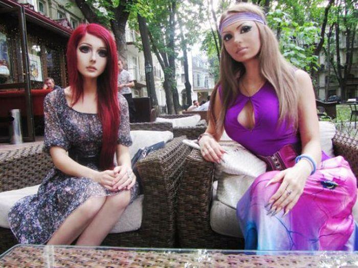 Живая кукла из Украины Анастасия Fukkacumi Шпагина (27 фото)