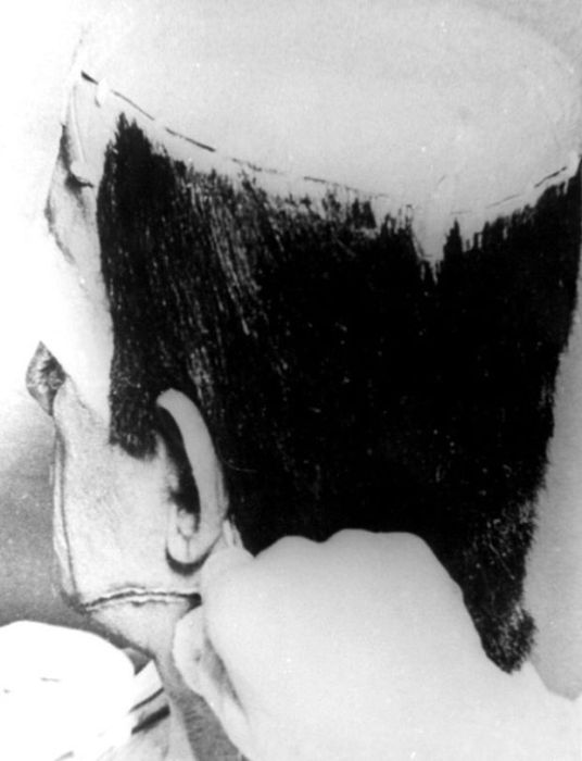 Съемки Франкенштейна (31 фото)