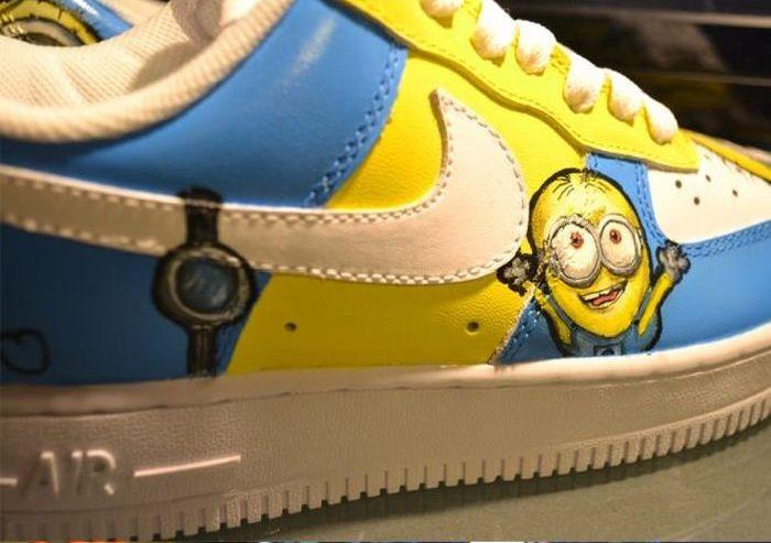 Классный рисунок на кроссовках (10 фото)