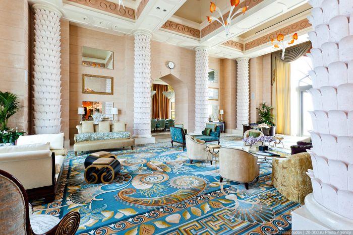 Отель Атлантис с номером за $50 000 (36 фото)