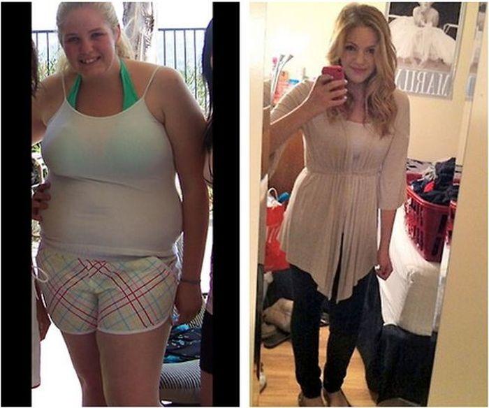 Получилось Похудеть Фото. «До и После» похудения: 30 впечатляющих фото