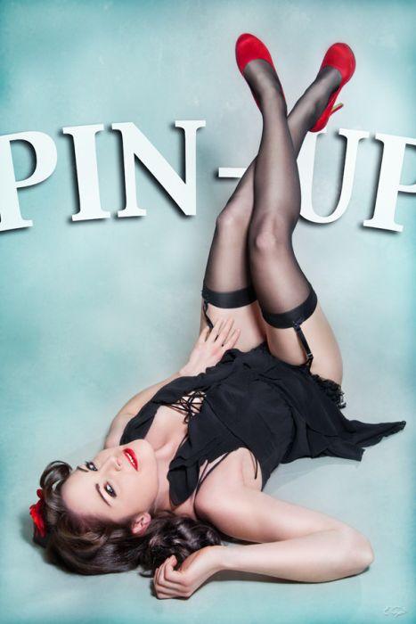 Девушки в стиле Pin Up (51 фото)