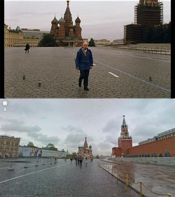 Брат 2 - известные места по Google Maps (25 фото)
